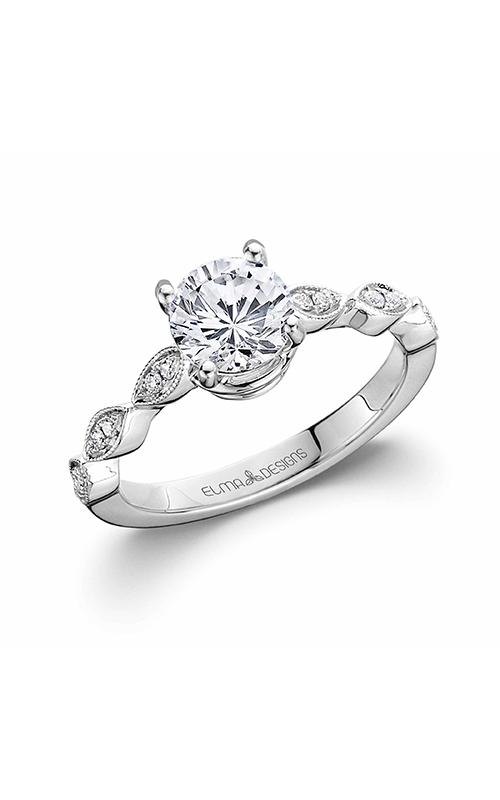 Elma Designs Bridal Collection engagement ring EDDR-803 product image