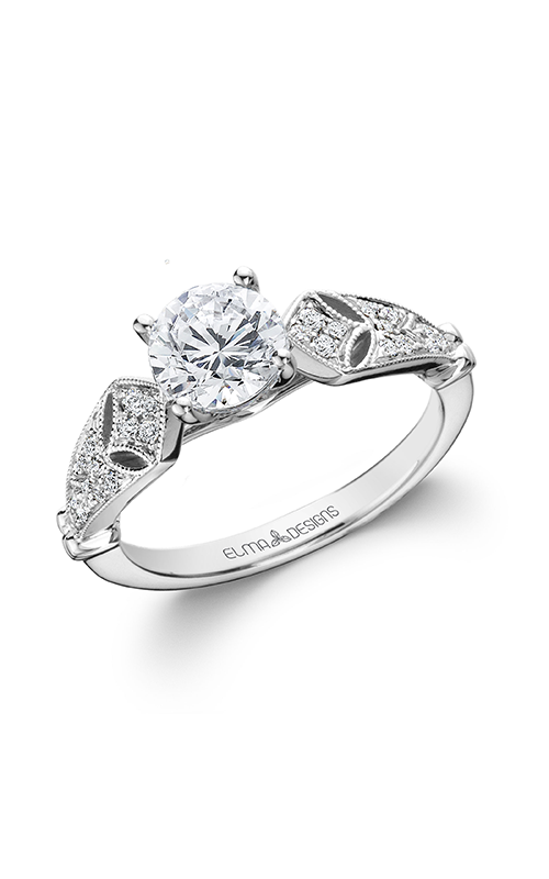 Elma Designs Bridal Collection engagement ring EDDR-804 product image