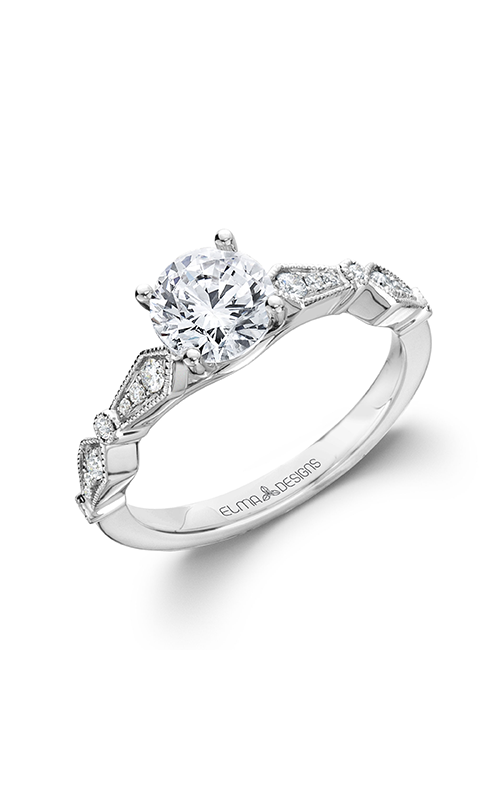 Elma Designs Bridal Collection engagement ring EDDR-805 product image