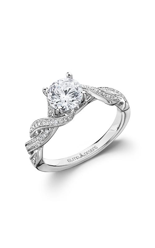 Elma Designs Bridal Collection engagement ring EDDR-806 product image