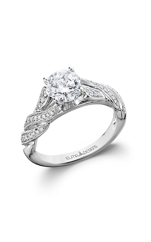 Elma Designs Bridal Collection engagement ring EDDR-807 product image