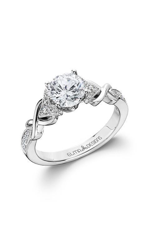 Elma Designs Bridal Collection engagement ring EDDR-808 product image