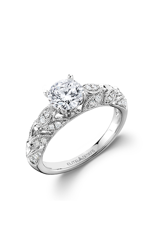 Elma Designs Bridal Collection engagement ring EDDR-809 product image