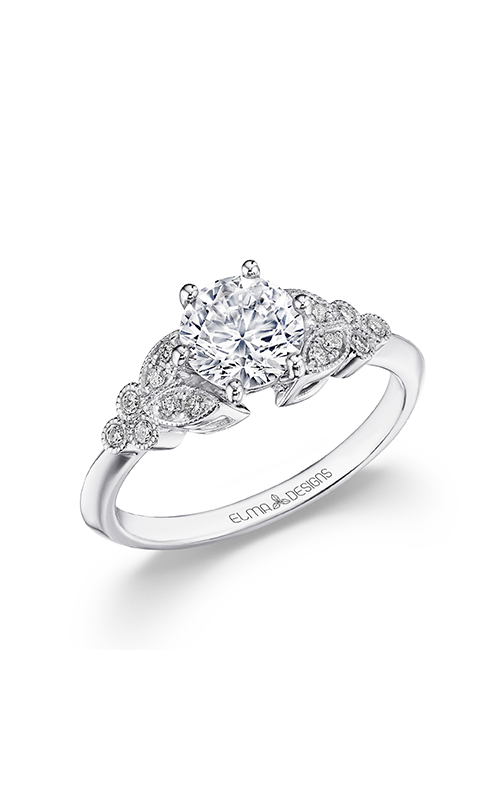 Elma Designs Bridal Collection engagement ring EDDR-852 product image