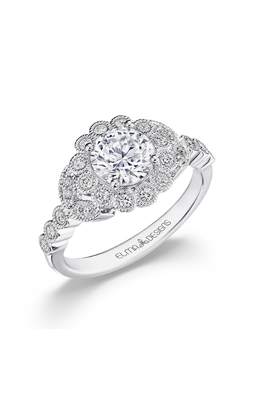 Elma Designs Bridal Collection engagement ring EDDR-871 product image