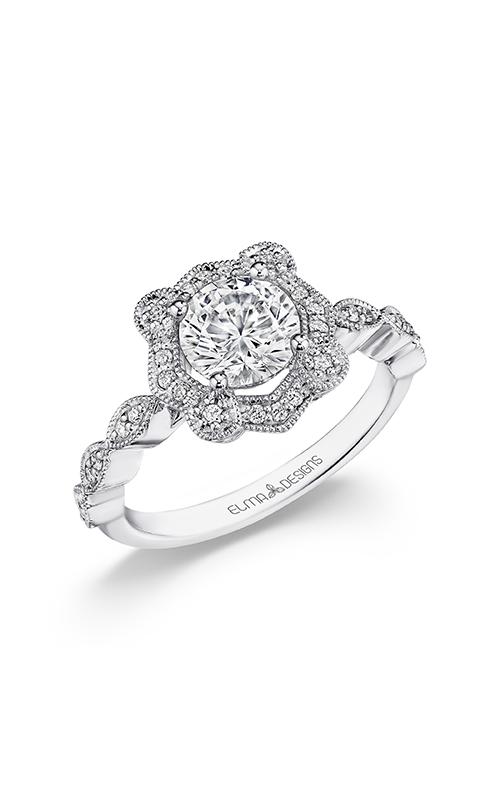 Elma Designs Bridal Collection engagement ring EDDR-872 product image