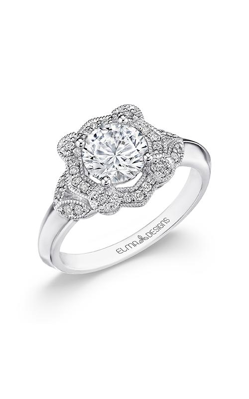 Elma Designs Bridal Collection engagement ring EDDR-873 product image