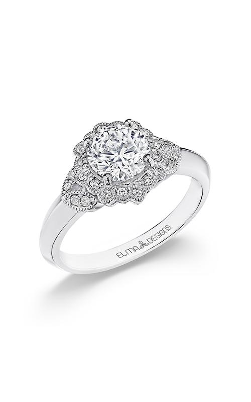 Elma Designs Bridal Collection engagement ring EDDR-875 product image