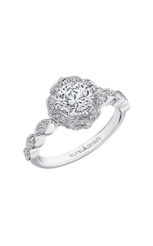 Elma Designs Bridal Collection engagement ring EDDR-876 product image