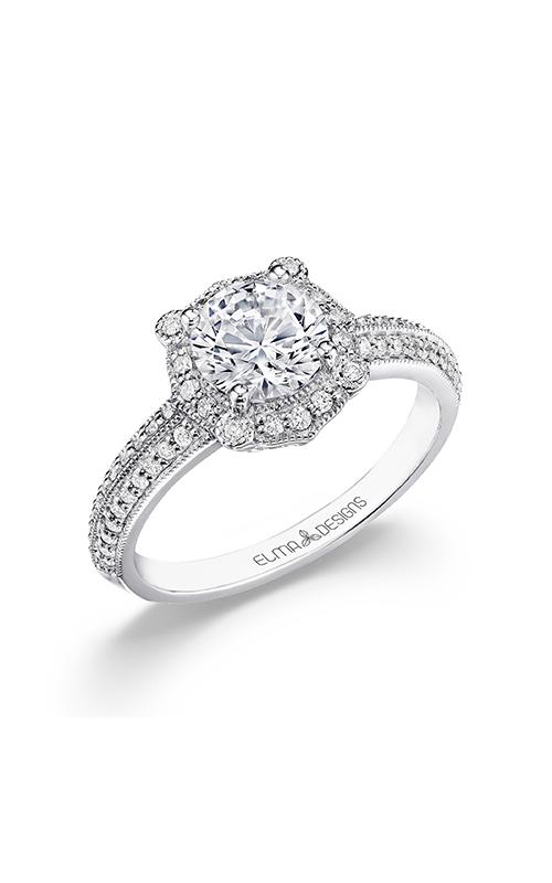 Elma Designs Bridal Collection engagement ring EDDR-878 product image