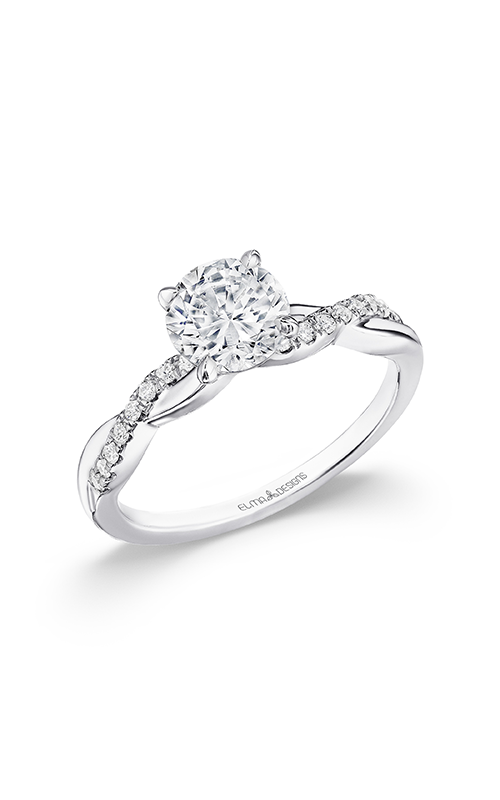 Elma Designs Bridal Collection engagement ring EDDR-880 product image