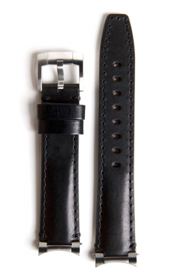 Everest Steel End Link Strap With Tang Buckle - Black EH3BLK product image