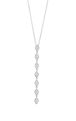 Facet Barcelona Necklace P7180019WH product image