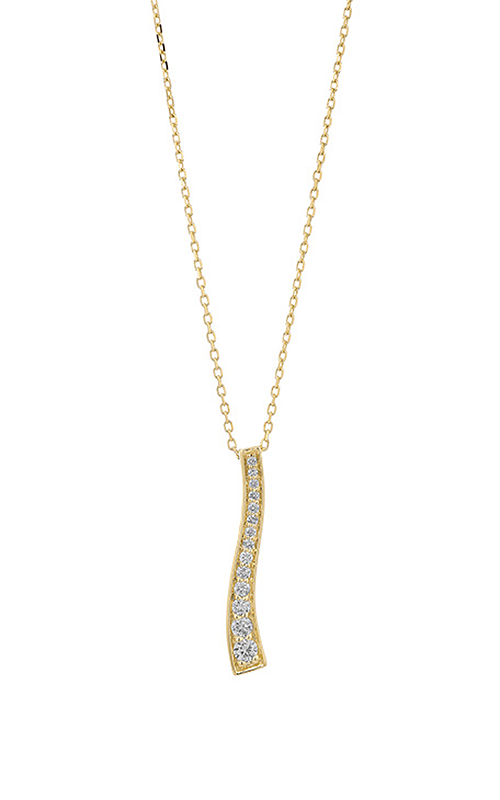 Facet Barcelona Necklace P0130018YE product image