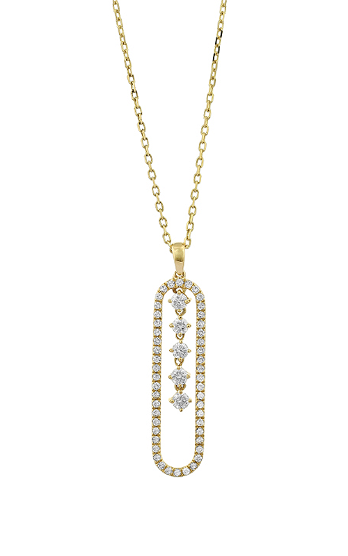 Facet Barcelona Necklace P7180114YE product image