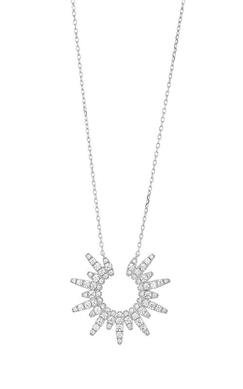 Facet Barcelona Necklace P0140231WH product image