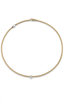 Fope Eka Tiny Necklace 730C PAVE Y product image