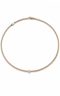 Fope Eka Tiny Necklace 730C PAVE R product image