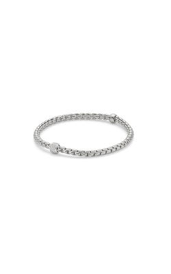 Fope Eka Tiny Bracelet 733B PAVE W product image