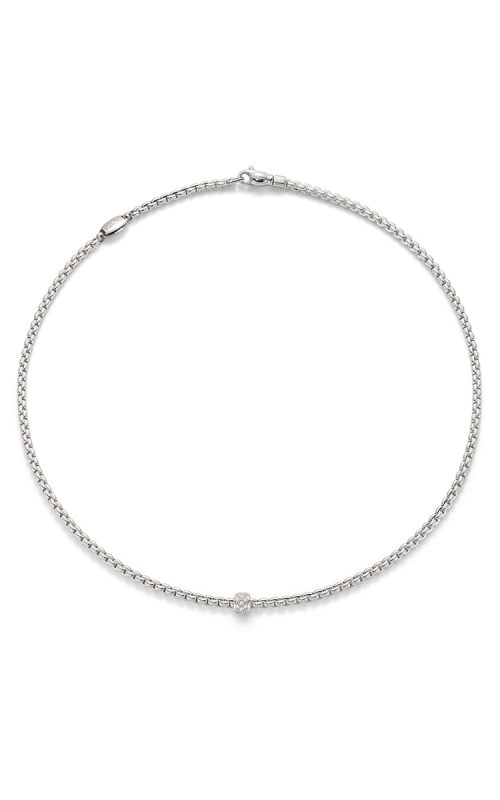 Fope Eka Tiny Necklace 730C PAVE W product image