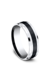 Forge Cobalt and Ceramic Comfort-Fit Design Wedding Band CF67861CMCC06 product image