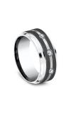 Forge Cobalt Comfort-Fit Diamond Wedding Ring CF995623CC06 product image