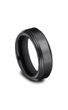 Forge Black Titanium Comfort-Fit Design Wedding Band CF68100BKT14 product image