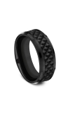 Forge Black Titanium Comfort-fit Design Wedding Band CF108745BKT08 product image