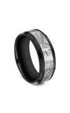 Forge Black Titanium Comfort-fit Design Wedding Band CF108843BKTMT08 product image
