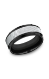 Forge Men's Wedding Bands CF108814BKTDS08 product image
