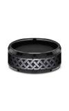 Forge Black Titanium Comfort-fit Design Wedding Band CF109361BKT08 product image