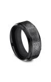 Forge Black Titanium Comfort-Fit Design Wedding Band CF69100BKT06 product image