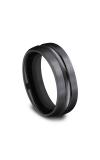 Forge Black Titanium Comfort-Fit Design Wedding Band CF717505BKT06 product image