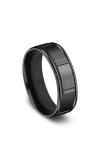 Forge Black Titanium Comfort-Fit Design Wedding Band RECF77452BKT06 product image