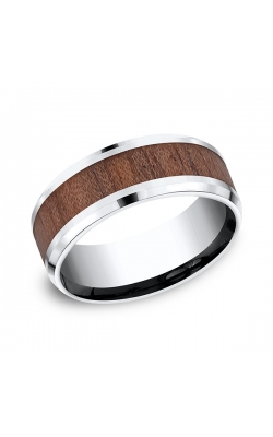 Forge Cobalt and Rosewood Comfort-Fit Design Wedding Band CF58489CC10.5 product image