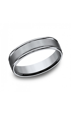 Forge Titanium Comfort-Fit Design Wedding Band 561T13.5 product image