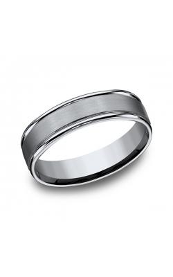 Forge Titanium Comfort-Fit Design Wedding Band 561T07.5 product image