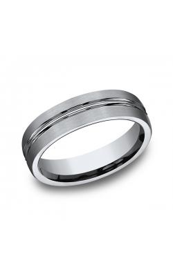 Forge Titanium Comfort-Fit Design Wedding Band 560T14 product image