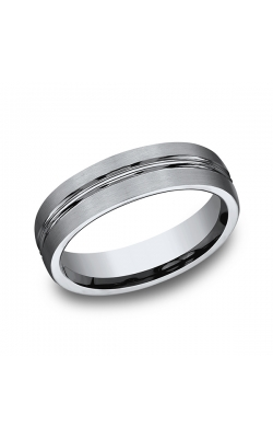 Forge Titanium Comfort-Fit Design Wedding Band 560T13.5 product image