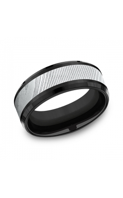 Forge Men's Wedding Bands Wedding Band CF108814BKTDS08 product image