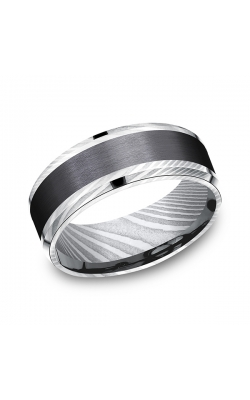 Forge Black Titanium Comfort-fit Design Wedding Band CF118813BKTDS08 product image