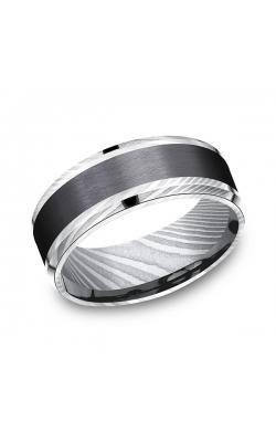 Forge Black Titanium Comfort-fit Design Wedding Band CF118813BKTDS09.5 product image