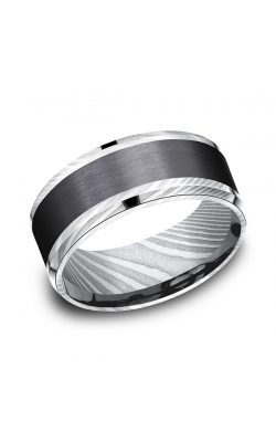 Forge Black Titanium Comfort-fit Design Wedding Band CF119813BKTDS13 product image