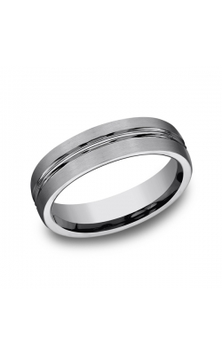 Forge Tungsten Comfort-Fit Design Wedding Band CF56411TG14 product image