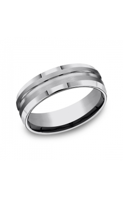 Forge Tungsten Comfort-Fit Design Wedding Band CF67439TG07 product image