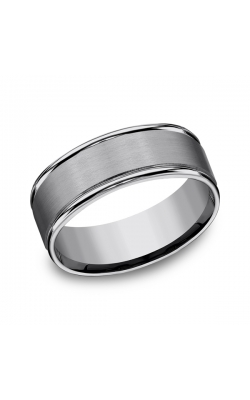 Forge Tungsten Comfort-Fit Design Wedding Band RECF7802STG07 product image