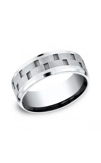 Forge Cobalt Comfort-Fit Design Wedding Band CF68943CC06.5 product image