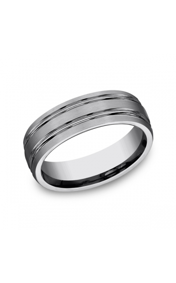 Forge Tungsten Comfort-Fit Design Wedding Band CF57444TG06 product image