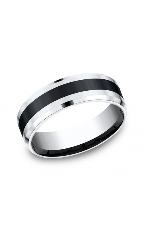 Forge Cobalt and Ceramic Comfort-Fit Design Wedding Band CF67861CMCC06 product image