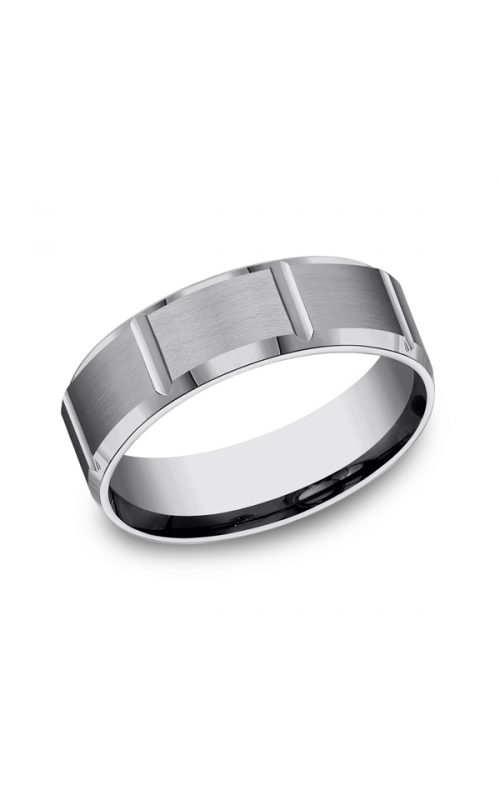 Forge Tungsten Comfort-Fit Design Wedding Band CF67449TG10 product image